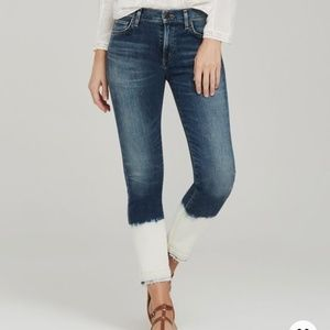 Citizens of Humanity Rocket Jeans with Dip Dye